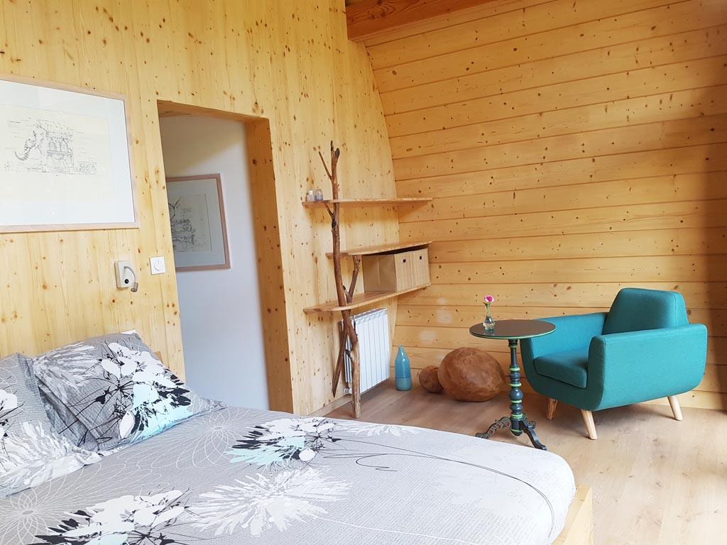 La Châtaigne – cabane insolite en Ardèche